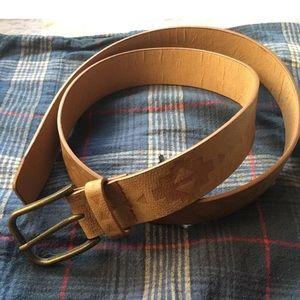 Forever 21 Tan Tribal Pattern Belt